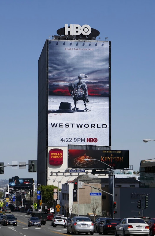 Giant Westworld season 2 vulture billboard