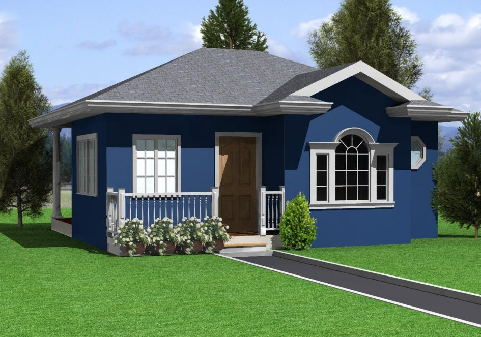 low cost bungalow house plans philippines construction in bangalore arts m home pdf design india 945x663 - Download Low Cost Simple Modern Small House Design Gif