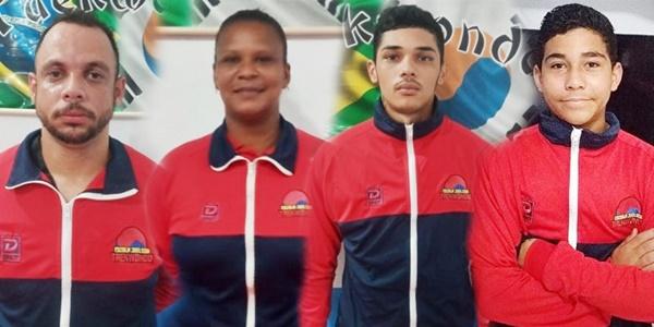 Atletas de Quissamã representam o Brasil em Campeonato Internacional online de Taekwondo da Venezuela