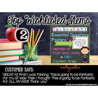 Brittany Washburn's second most wish listed resource on sale!