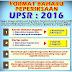 Format Baharu UPSR Bermula 2016