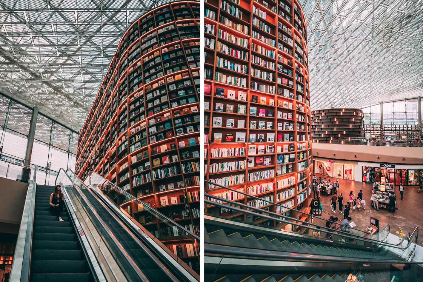 librairie Starfield Séoul