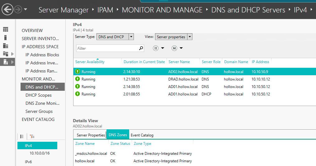 Triển khai quản lý địa chỉ IP trong Windows Server 2016 (IPAM)
