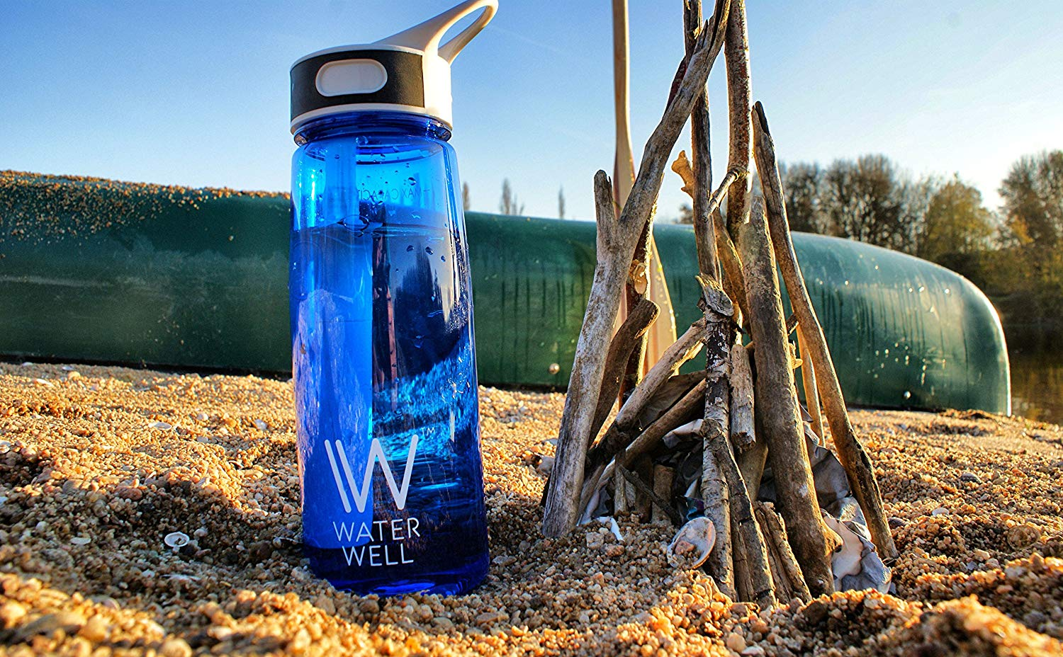 Family Travel Essentials for Long Haul Holidays with Tweens - WaterWell Travel Filter Bottle