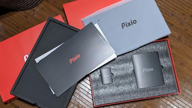 pixioモバイルモニター箱二段目写真