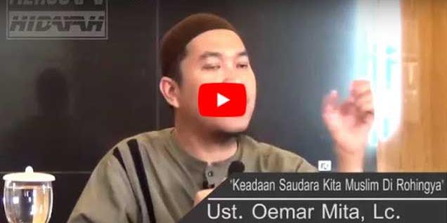 [Vidio] Ustadz Oemar Mita: Saya Lihat Sendiri Pembantaian (Genosida) Atas Muslim Rohingya Bukan HOAX