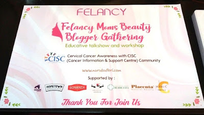 felancy moms blogger gathering educative talkshow and workshop Nurul Sufitri