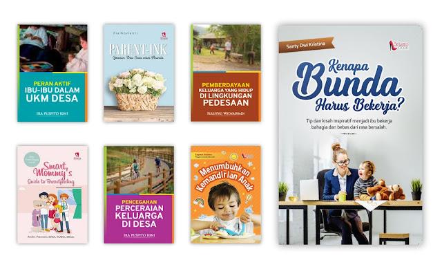 Buku Pemberdayaan Kesejahteraan Keluarga (PKK) Untuk Koleksi Perpustakaan Desa