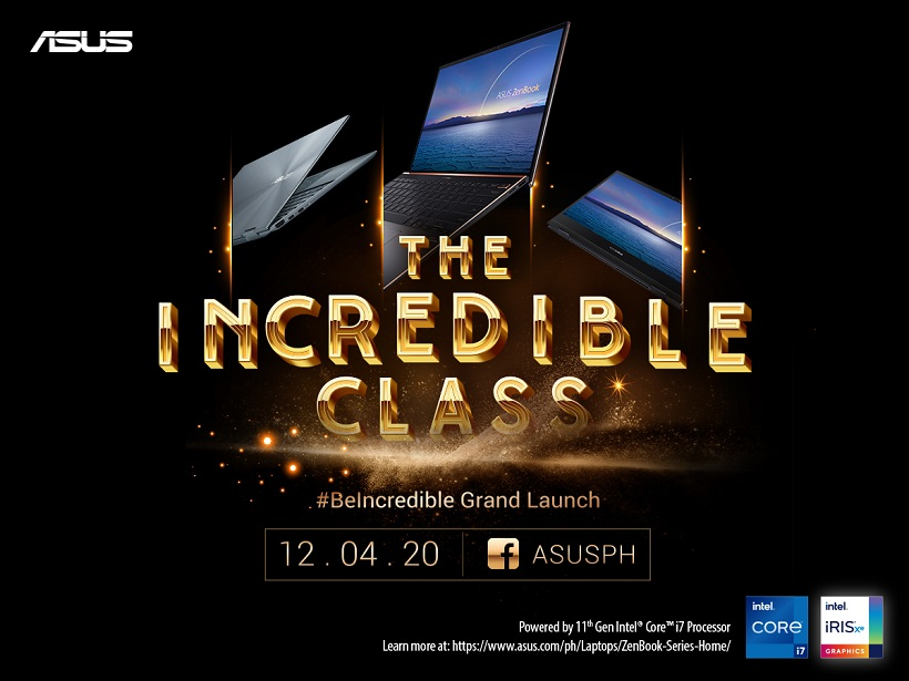 ASUS ZenBook Flip S, ZenBook S, Flip 13 with 11th Gen Intel