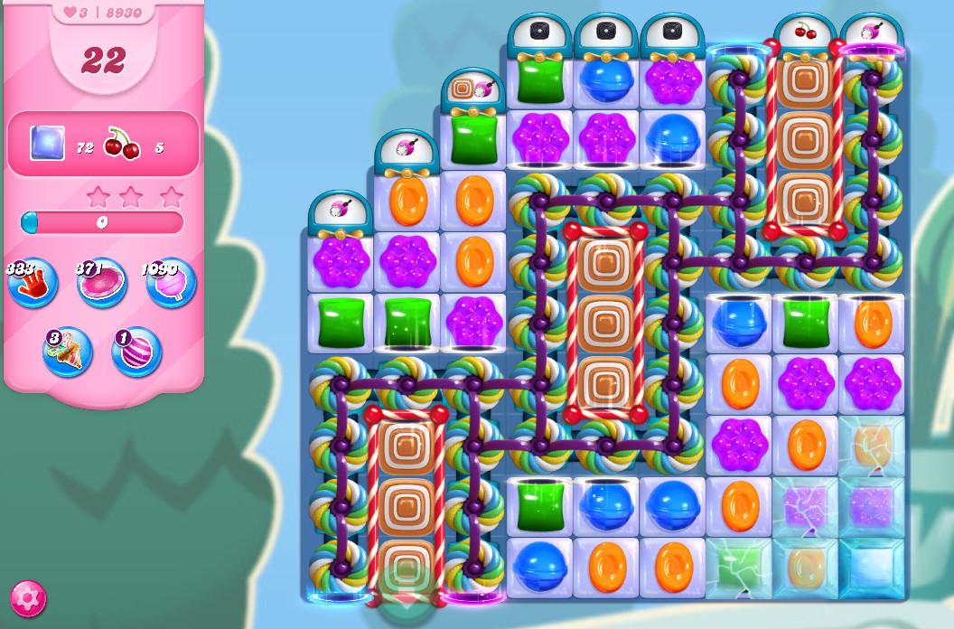 Candy Crush Saga level 8930