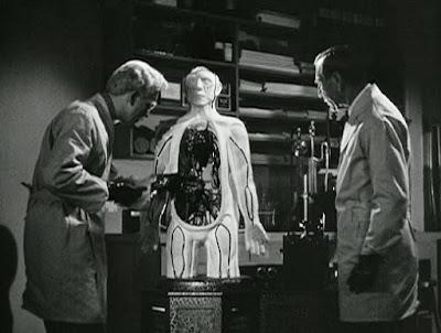 Still - Prison laboratory scene, Before I Hang (1940)