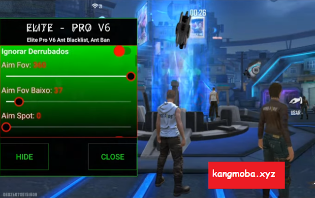 Cheat FF Mod Menu Elite Pro v6 Headshot Antiban Antiblacklist