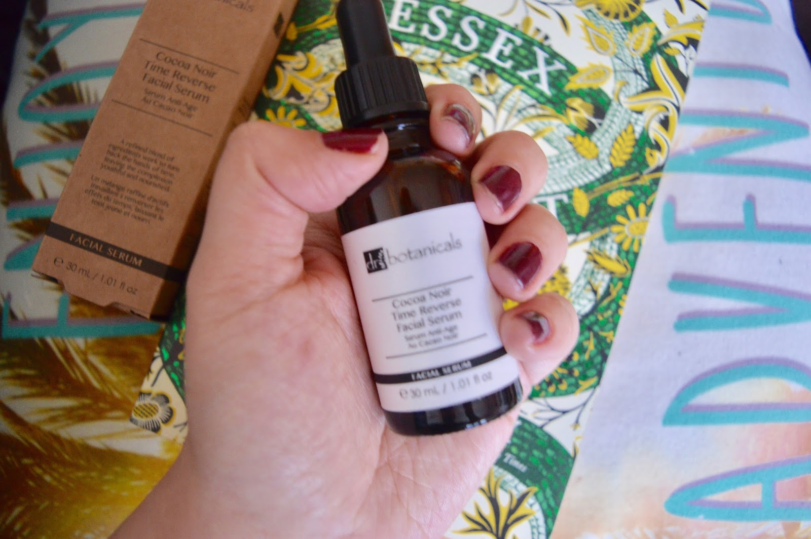 dr botanicals cocoa noir facial serum review
