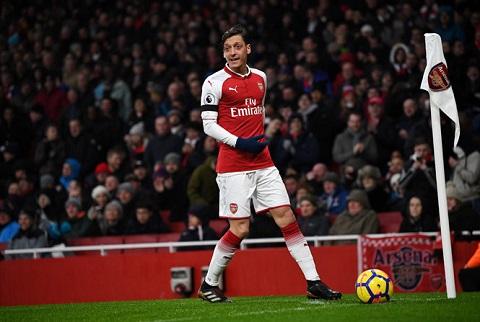 Mesut Ozil đã có sự nghiệp đáng nhớ tại Arsenal