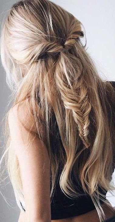 cute braid hairstyle idea