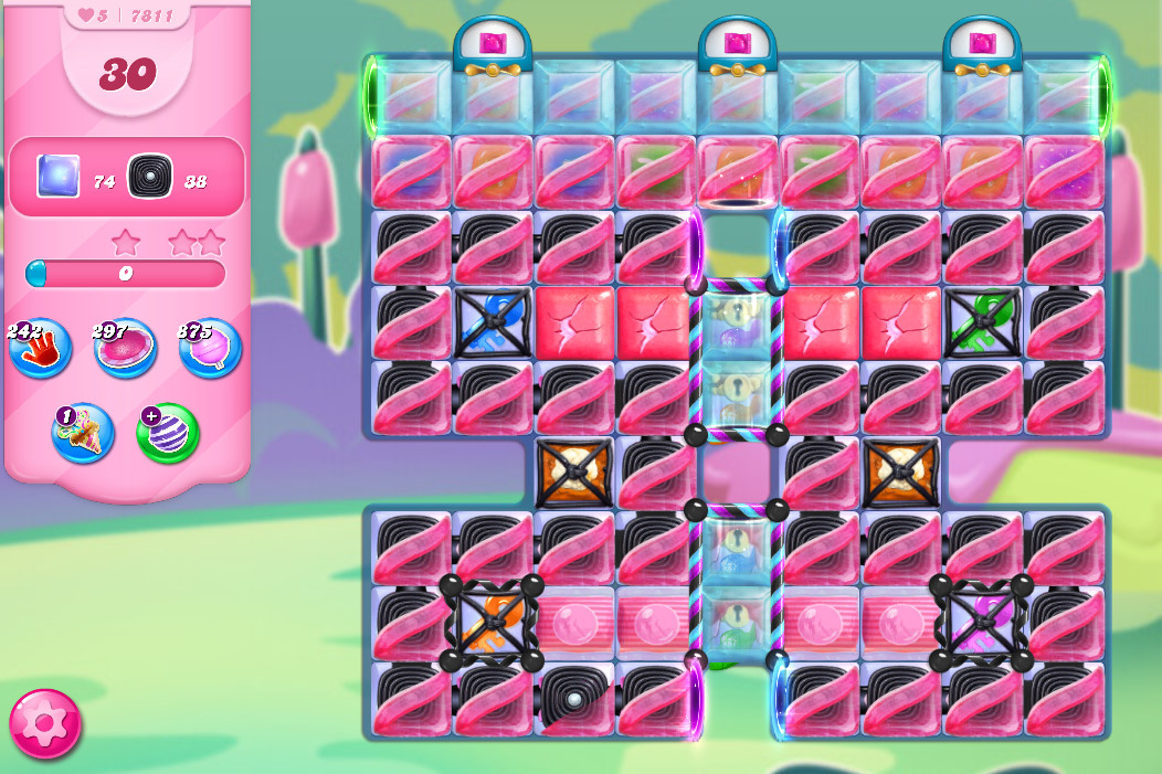 Candy Crush Saga level 7811