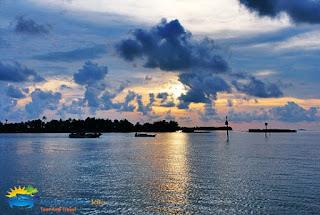 Pulau Menjangan Besar dari kejauhan