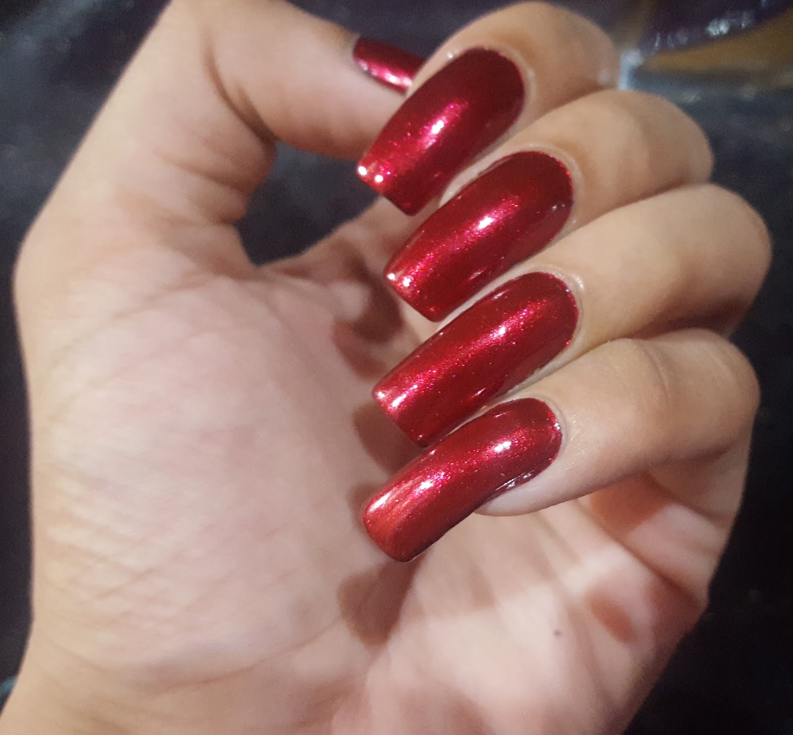 China Glaze Nail Polish Red 2013 Happy Holiglaze