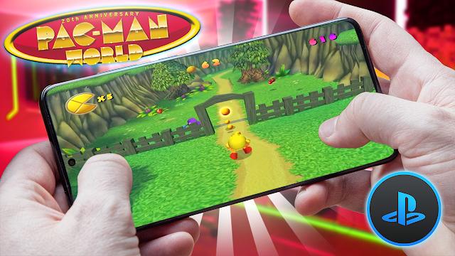 Pac-Man World Para Teléfonos Android (ROM PS1)