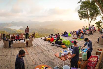 Lokasi dan Menu Coffee Angkasa di Bukit Pule Payung Kulon Progo