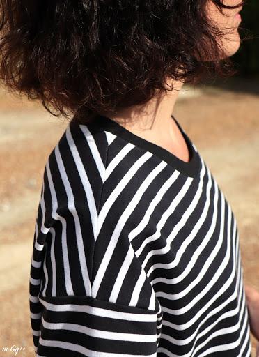 Une Robe Tee-shirt Oversize... (Patron Maison) par m Gg++