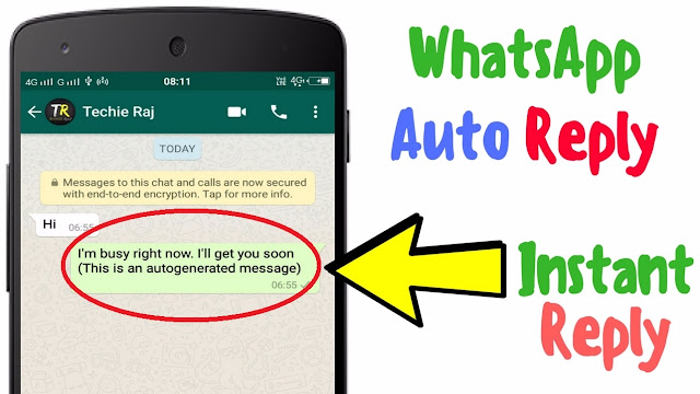 Whatsapp Message Auto Reply - How to Use Auto Reply on Whatsapp?