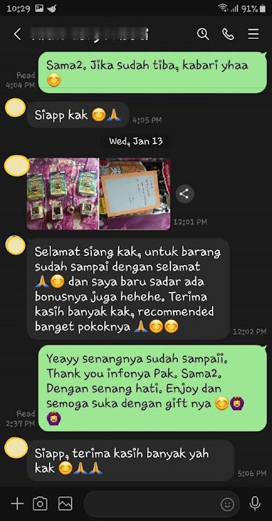 Testimoni Jasa Titip Bangkok-Indonesia, Ketulusan Kata Hati Pelanggan dan Pemesan JasTip REMEMBERTHAI.COM