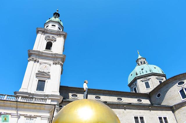 Kapitelplatz de Salzburg, Austria