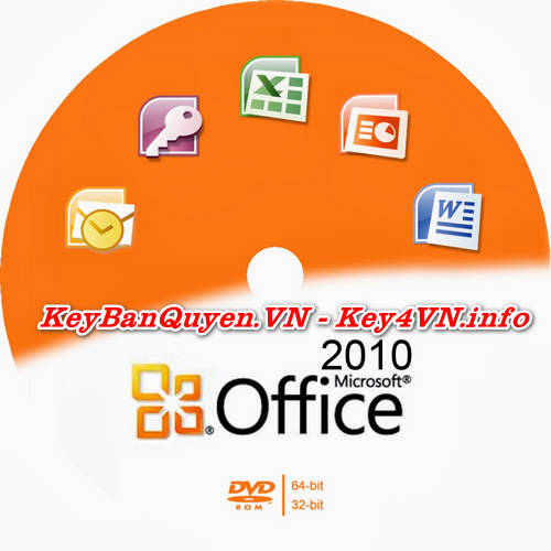 Mua bán key bản quyền Office 2010 Standard Full 32 và 64 Bit .