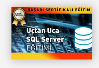 Uçtan Uca SQL Server Öğreniyorum