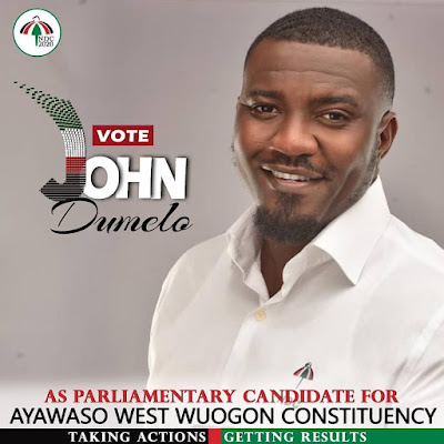 Actor John Dumelo Has Made His Plans To Contest As Parliamentary Candidate For Ayawaso West Wuogon Constituency In 2020 Elections _ Details