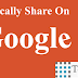 Now You Can Automatically Share Blogger Post on Google Plus