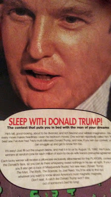 Sleep With Donald Trump
