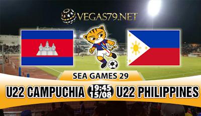 Nhận định, soi kèo nhà cái U22 Campuchia vs U22 Philippines