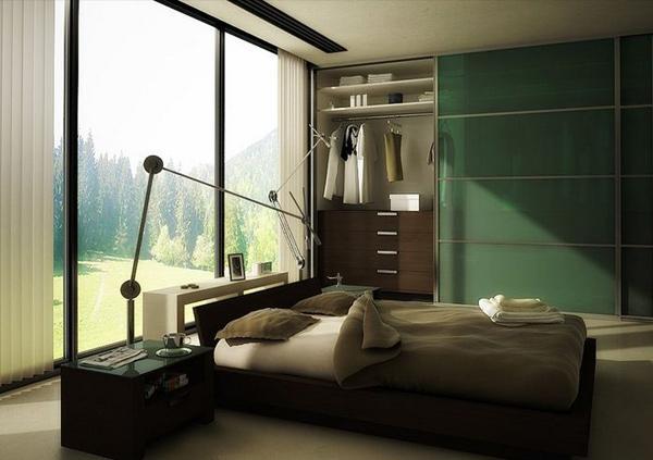 Kamar Tidur Bernuansa Hijau Menyegarkan