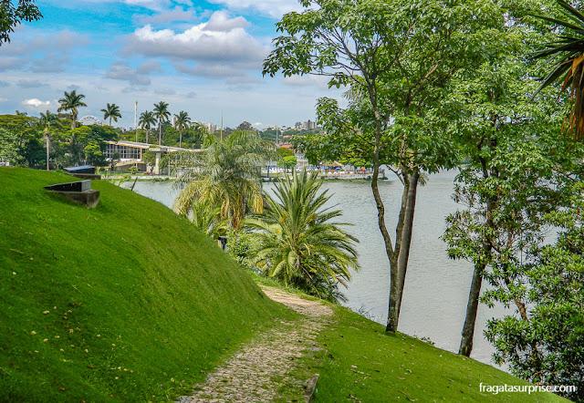 Lagoa da Pampulha e Iate Clube, Belo Horizonte