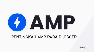 AMP PADA BLOGGER