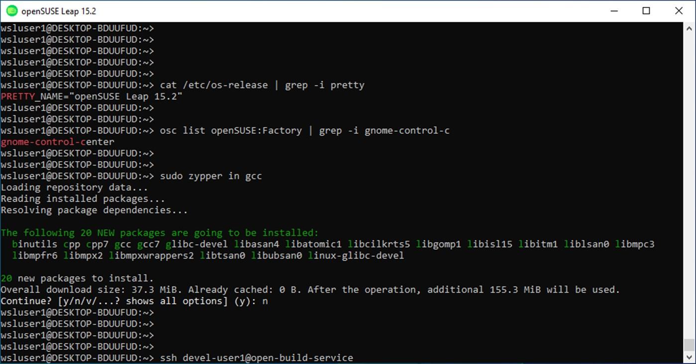 openSUSE Leap 15.2 disponibile per Windows 10 dal Microsoft Store