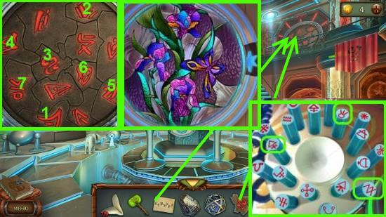 ставим камень и выставляем символы в игре наследие 3 дерево силы