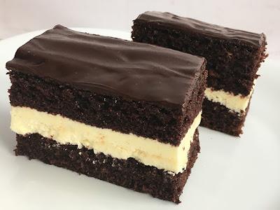 Ciasto czekoladowe z mlekiem w proszku