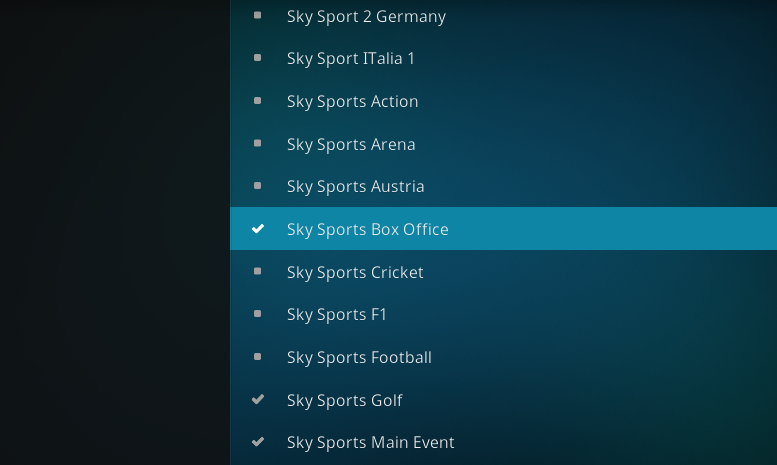 Top 10 Best Addons To Watch Sky Sports Box Office On Kodi