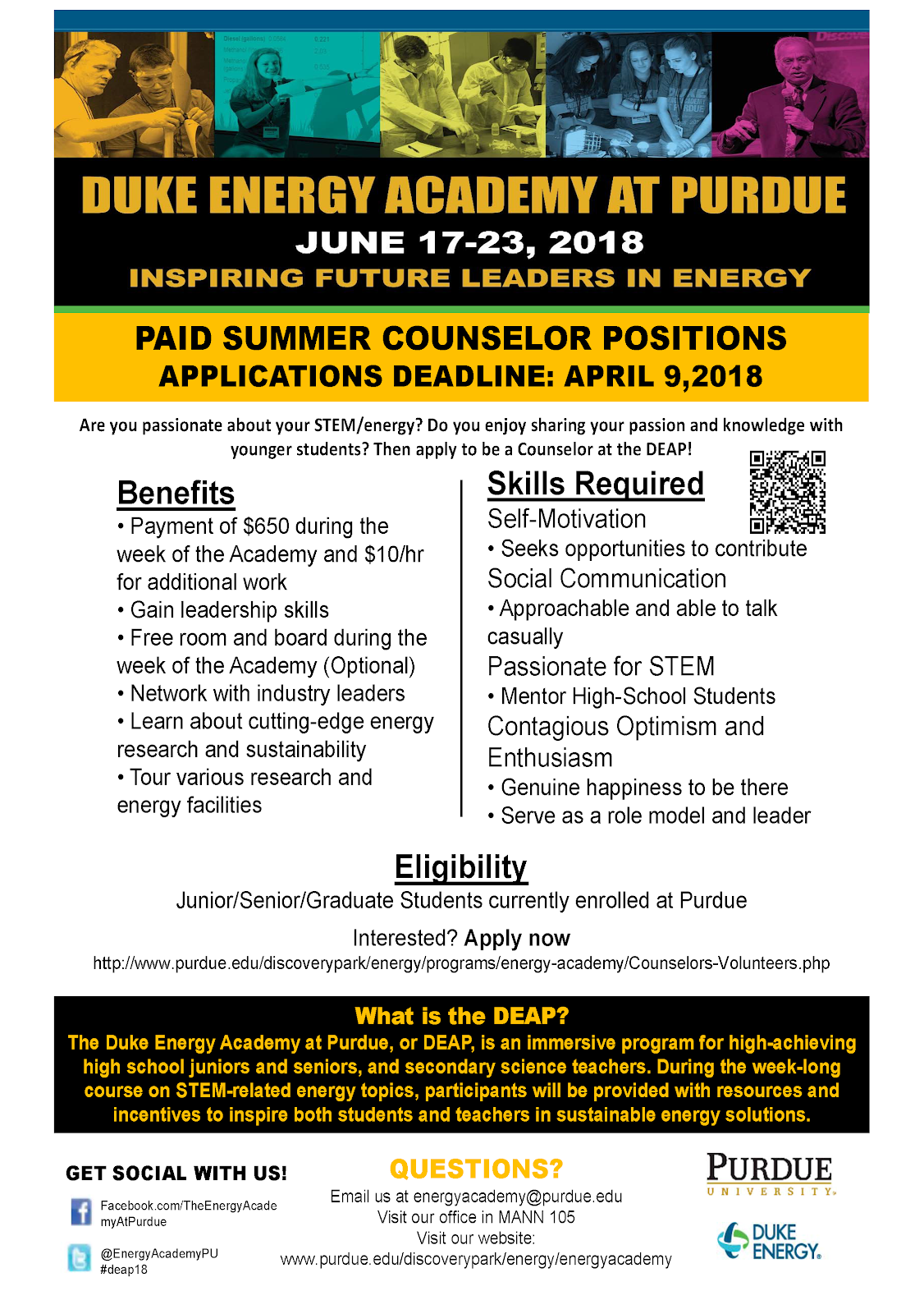 Purdue IE Undergrad News and Notes: Job opportunities for