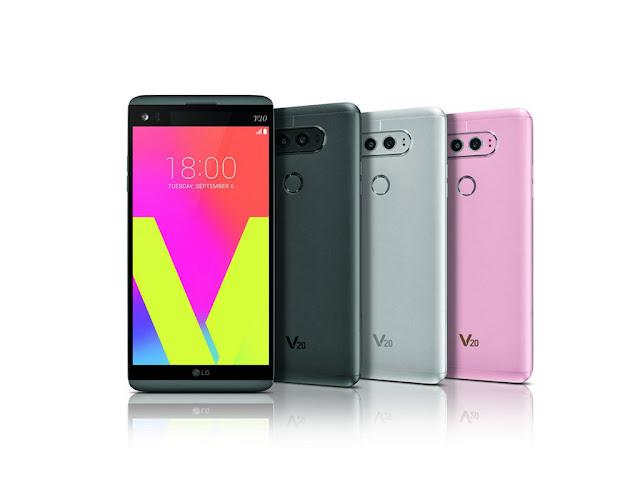 LG V20 resmi diperkenalkan: Android v7.0 Nougat, 5,7 inch dengan layar sekunder dan fokus pada Audio