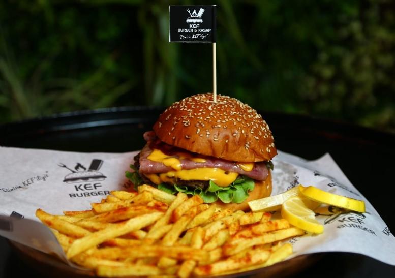 kef burger çayyolu ankara menü fiyat listesi burger siparişi