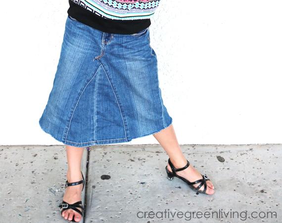 Make Jeans Into Skirt 90
