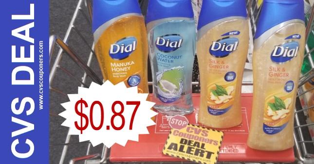 Dial Body Wash Coupon CVS Deal $0.87 10 6 10 12