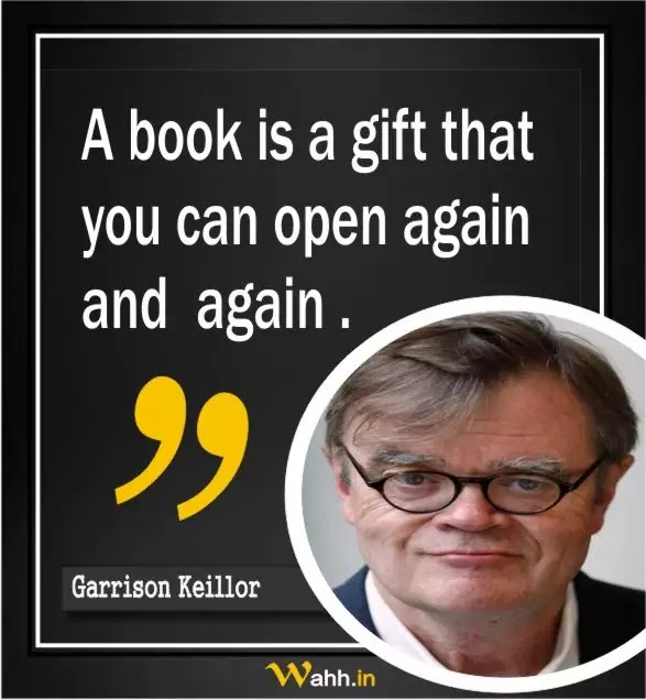 Garrison Keillor Thought Of The Day
