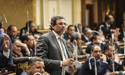 بلاغ يتهم خالد يوسف بنشر أخبار كاذبة والتحريض ضد الدولة