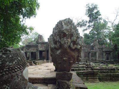 Deusa de Angkor Wat, no Camboja