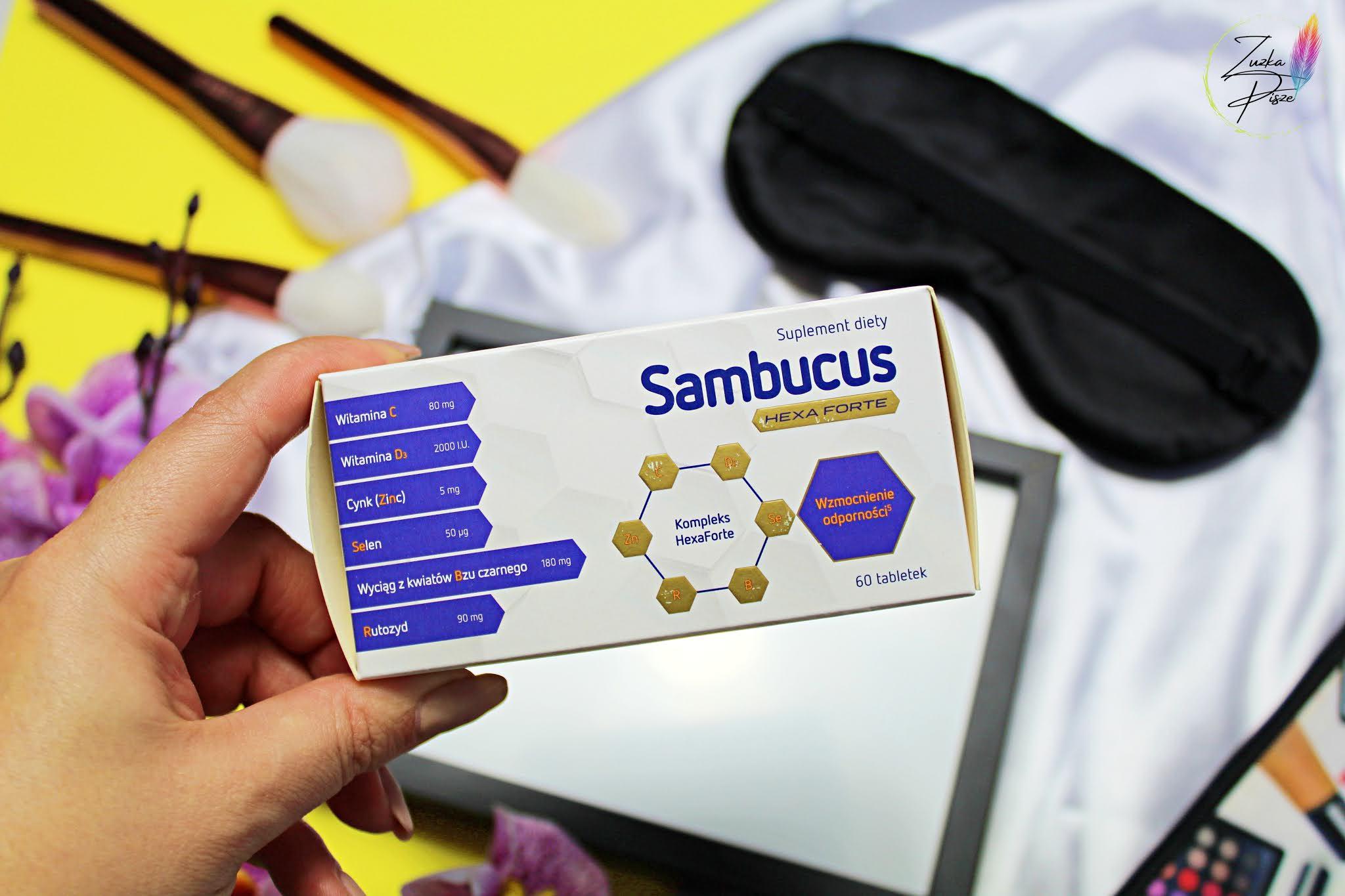 Sambucus Hexa Forte - pomoc w budowaniu odporności